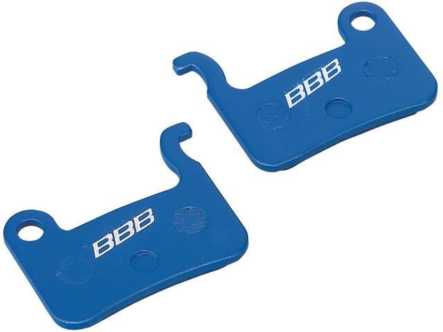 BBB BBS-54 Scheibenbremsbeläge Shimano blau